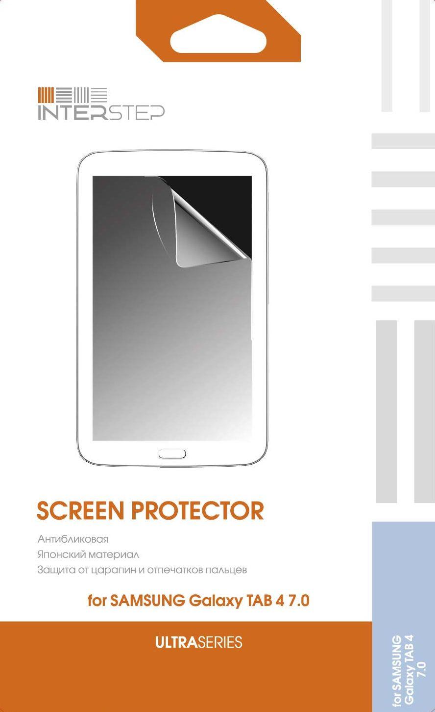 Защитная Пленка Interstep Серии Ultra Для Samsung Galaxy Tab 4 7.0 (Ультрапрозрачная) InterStep
