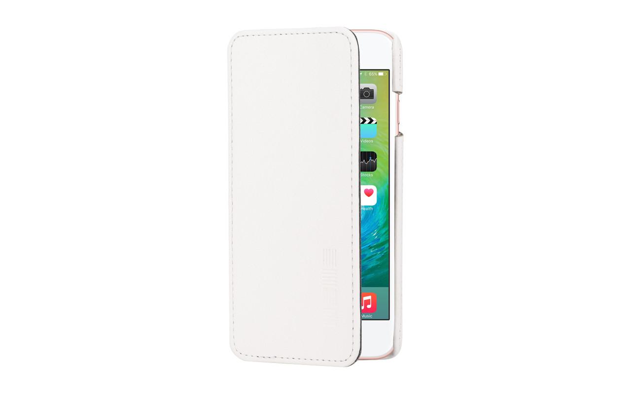 Чехол Книжка Для Телефона - Apple iPhone 6, белый, interstep CRAB