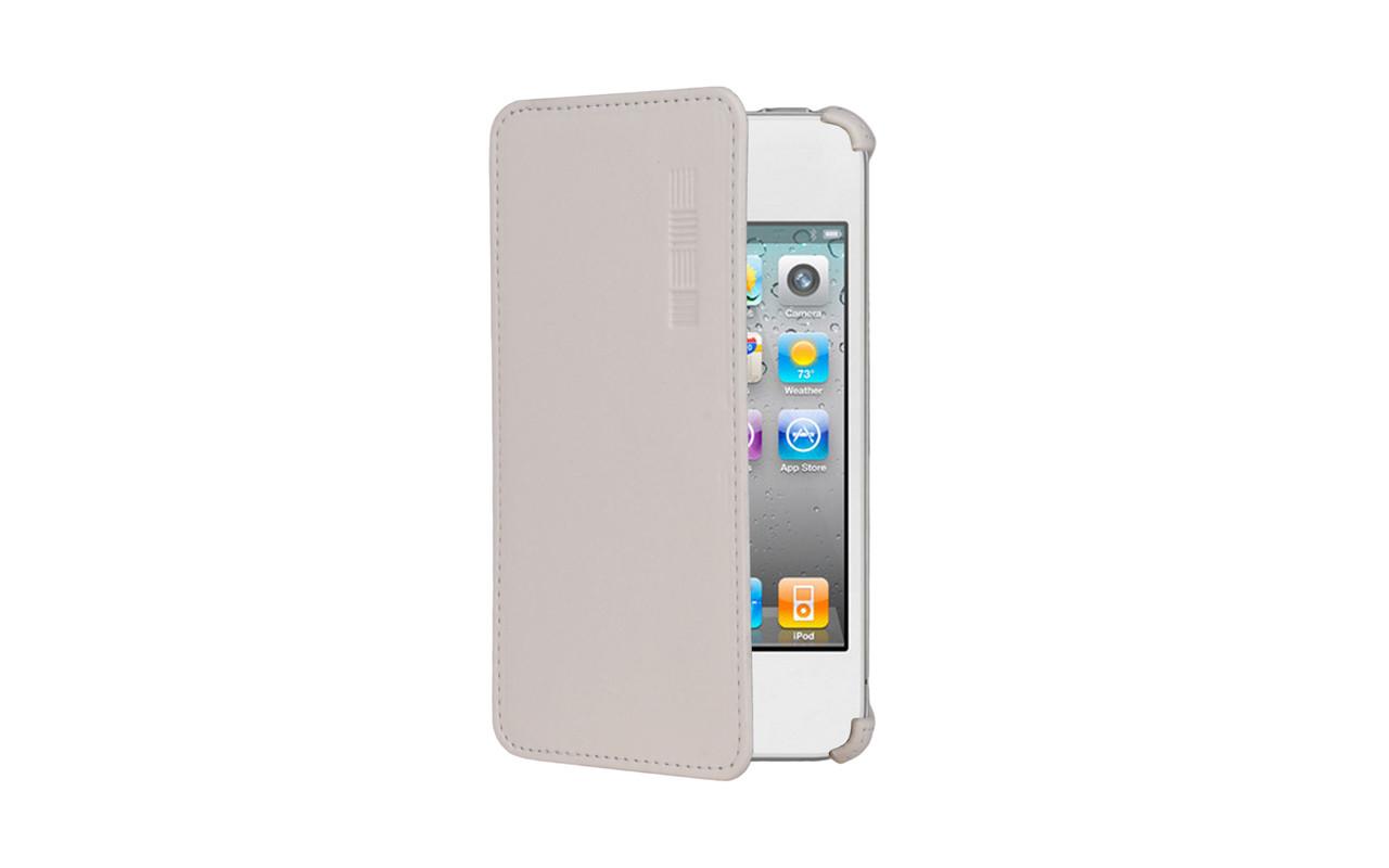 Чехол Книжка Для Lenovo A606, Белый, Кожаный, InterStep CRAB