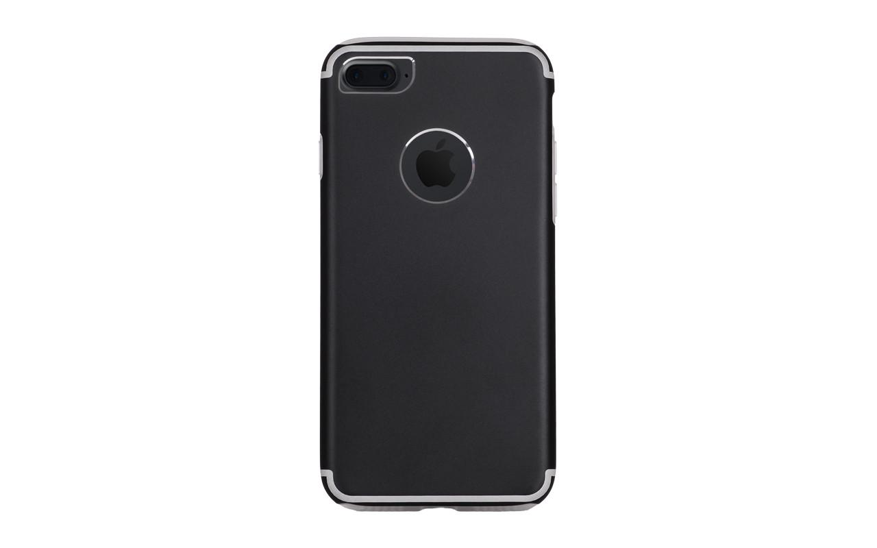 Чехол Накладка Для Телефона - Apple iPhone 7, interstep TITANIUM черный