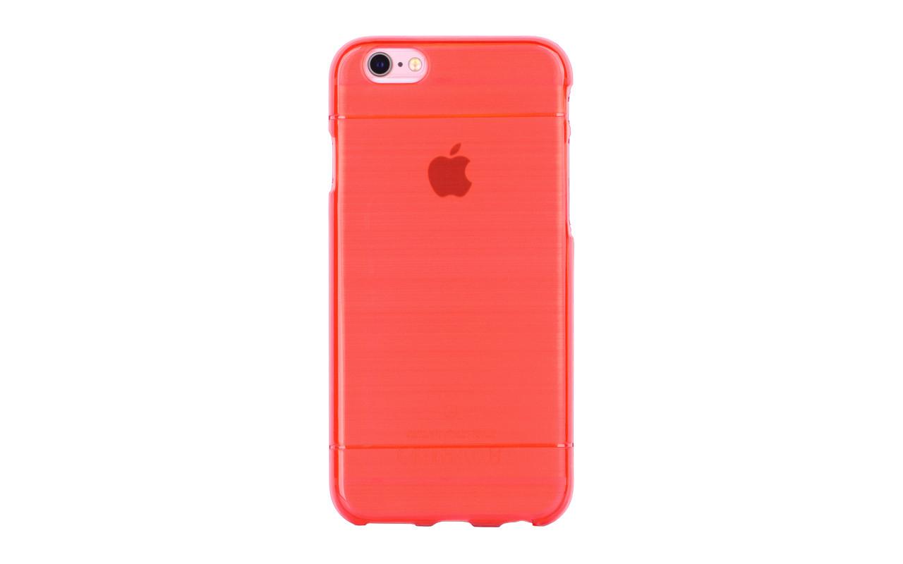 Чехол Накладка Для Телефона - Apple iPhone 7, interstep SCREAM красный