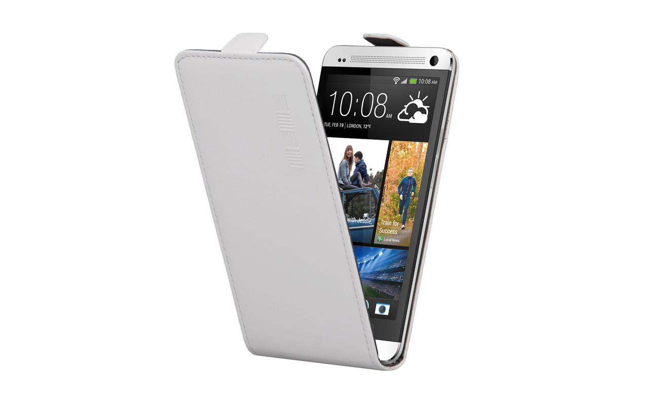 Универсальный Чехол Флип Кейс, Для Смартфона с Экраном от 5,2 до 5,5 дюймов Белый, InterStep NEXT