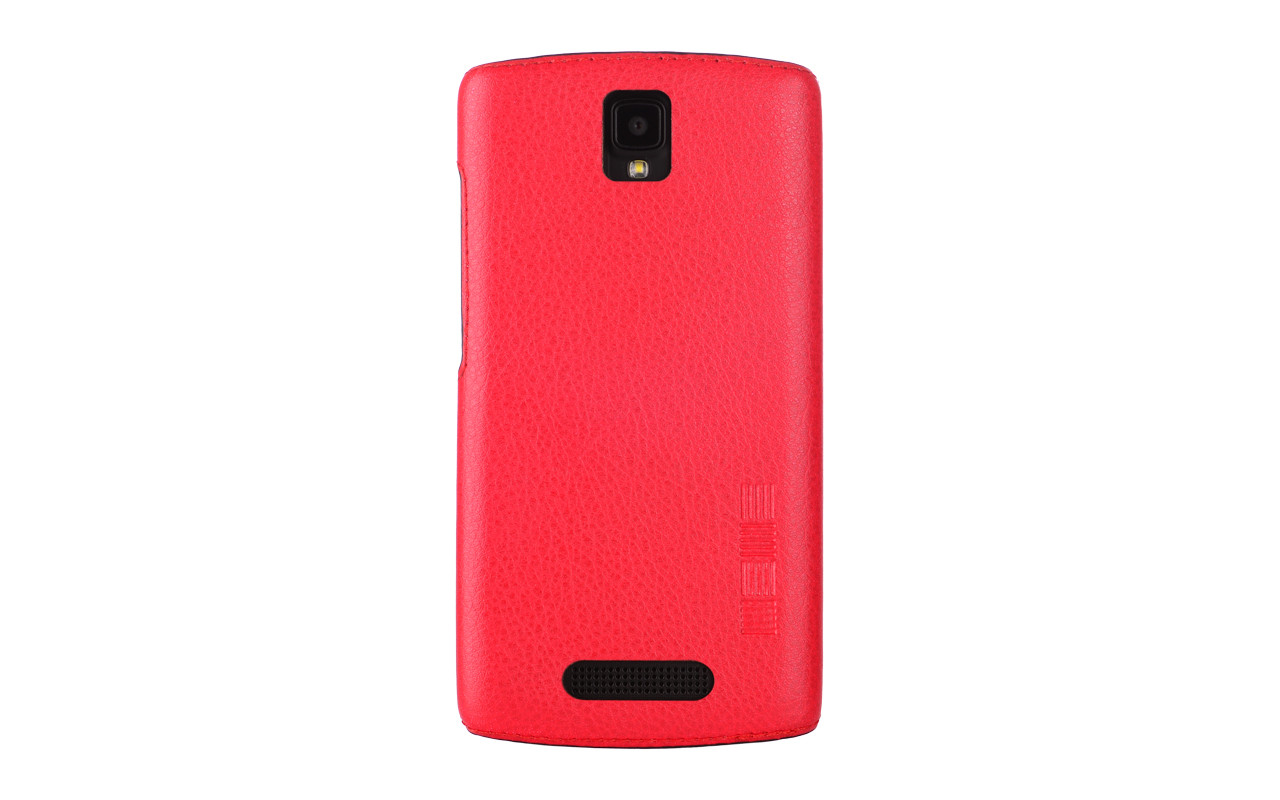 Чехол Накладка Для Телефона - Meizu U10, interstep ANCLIP красный