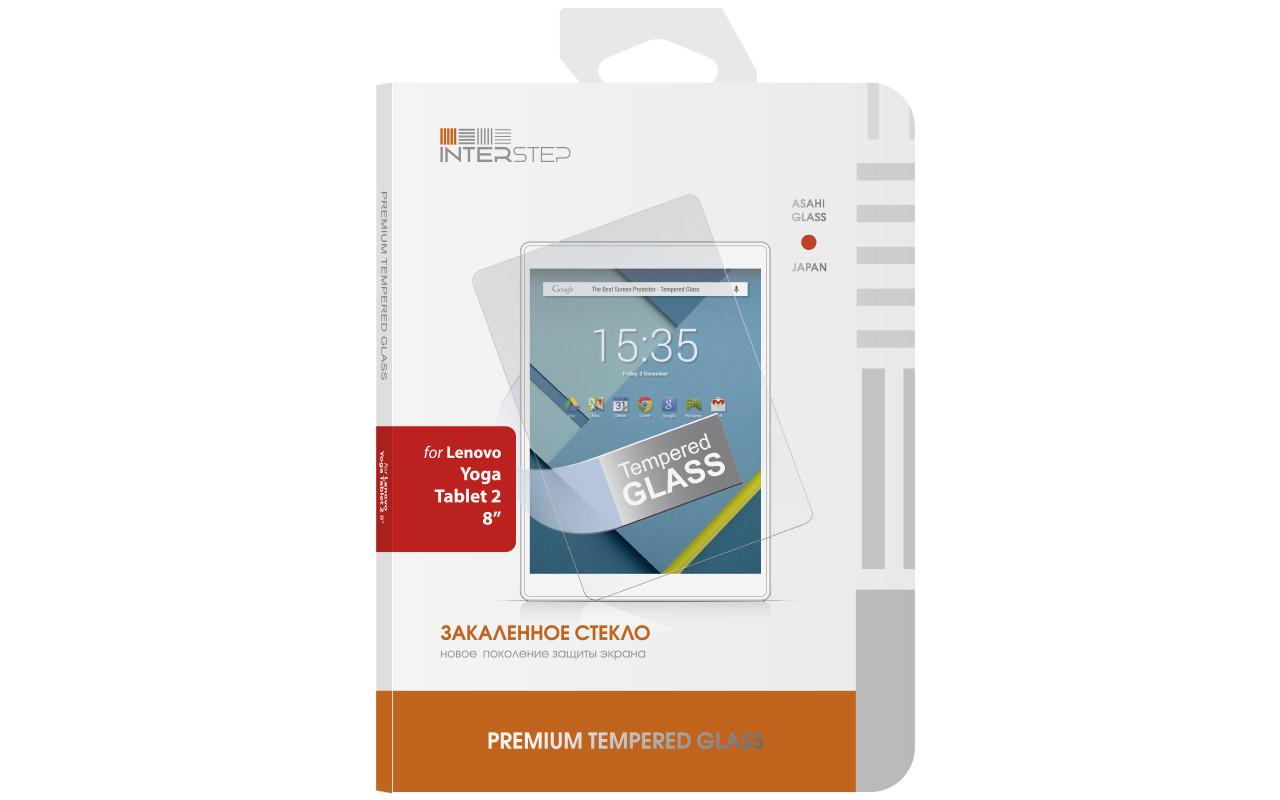 """Защитное Стекло На Экран Interstep Для Lenovo Yoga Tablet 2 (8"""") InterStep"""