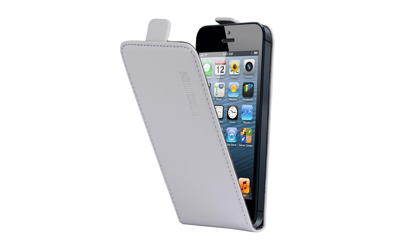 Универсальный Чехол Флип Кейс, Для Смартфона с Экраном от 4,7 до 5 дюймов Серый, InterStep NEXT
