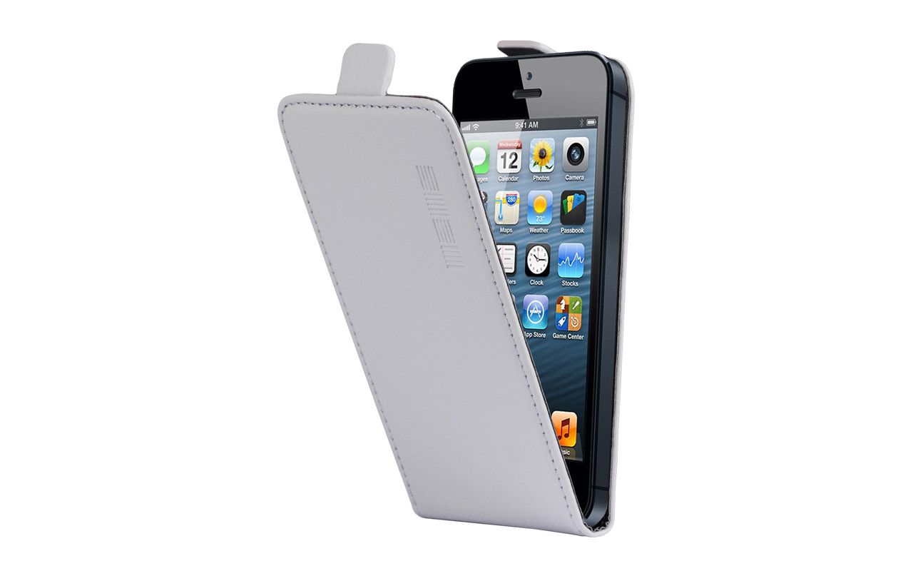 Универсальный Чехол Флип Кейс, Для Смартфона с Экраном от 4 до 4,7 дюймов Серый, InterStep NEXT