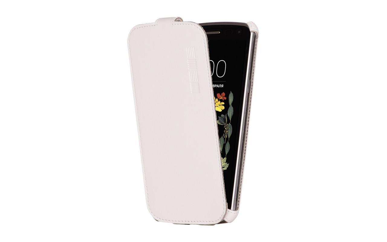 Флип-кейс IS CRAB Microsoft Lumia 550, и/к, белый
