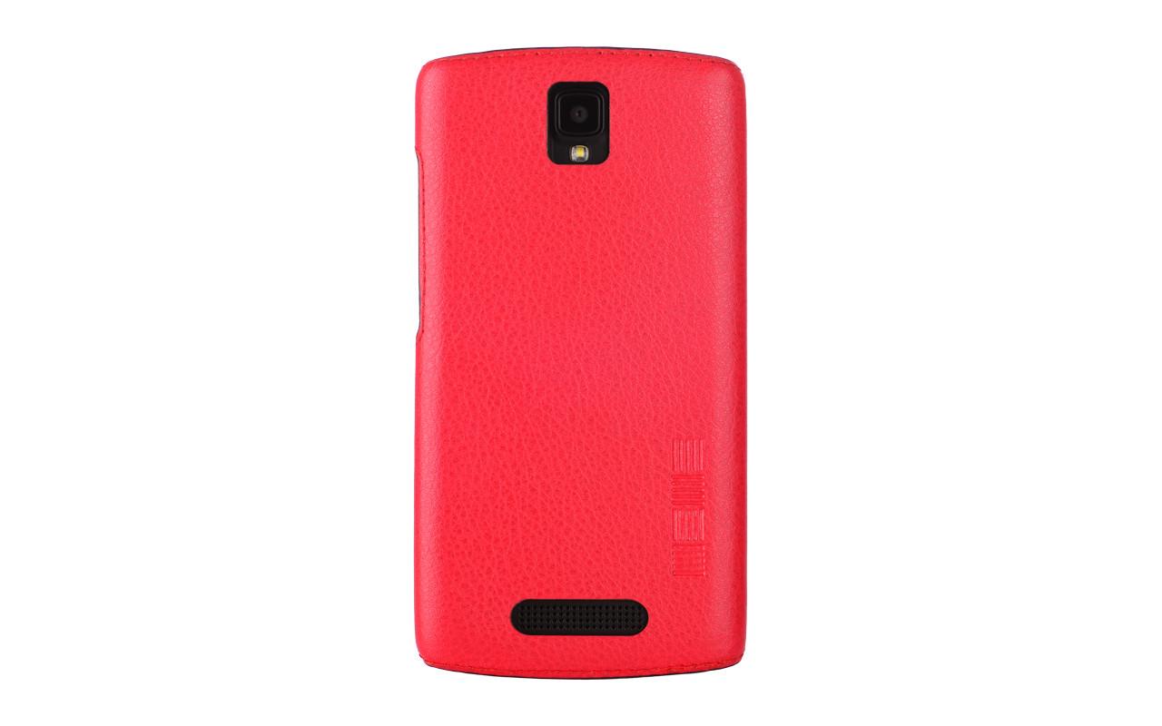 Чехол Накладка Для Телефона - DEXP Ixion ES350 Rage Plus, interstep ANCLIP красный