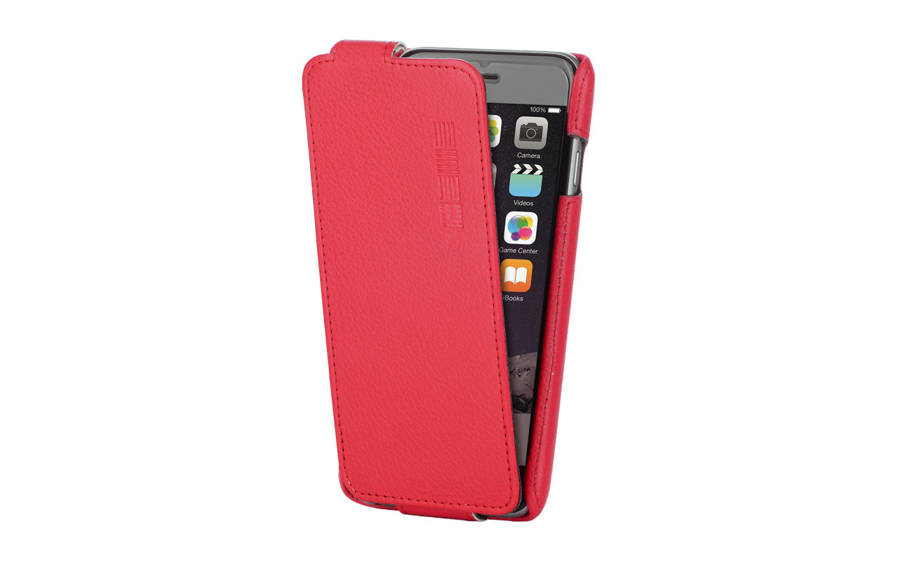 Чехол Флип-Кейс Для Телефона - Samsung Galaxy J2 Prime, interstep CRAB красный