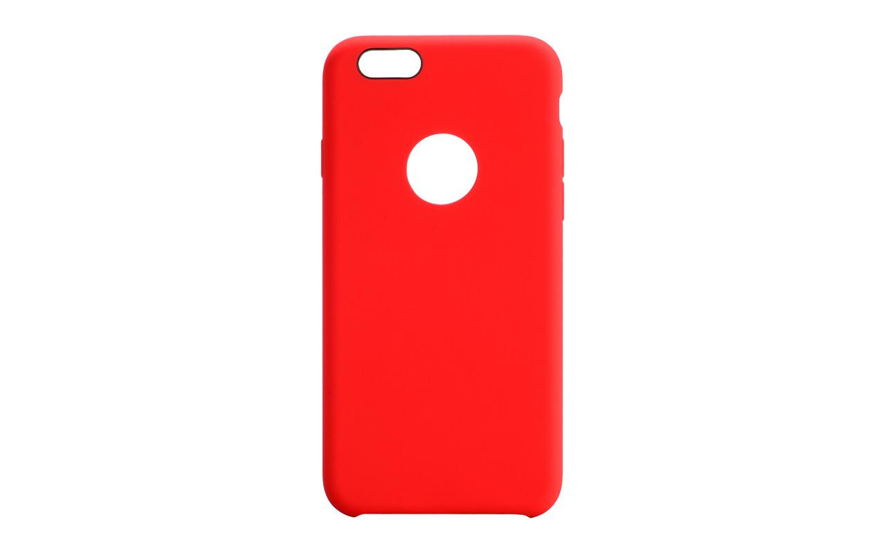 Чехол Накладка Для Телефона - Apple iPhone 6, interstep SOFT-TOUCH красный