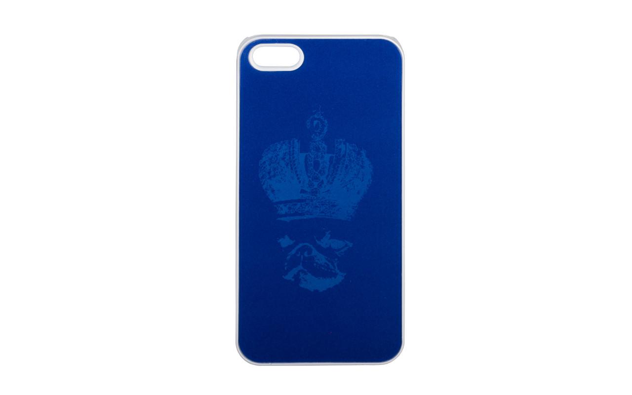 Клип Кейс - Чехол накладка Для Apple iPhone 5, Черный - Корона, InterStep