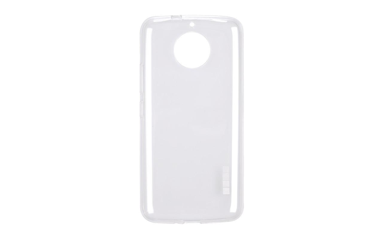 Прозрачный силиконовый чехол на Motorola Moto G5S