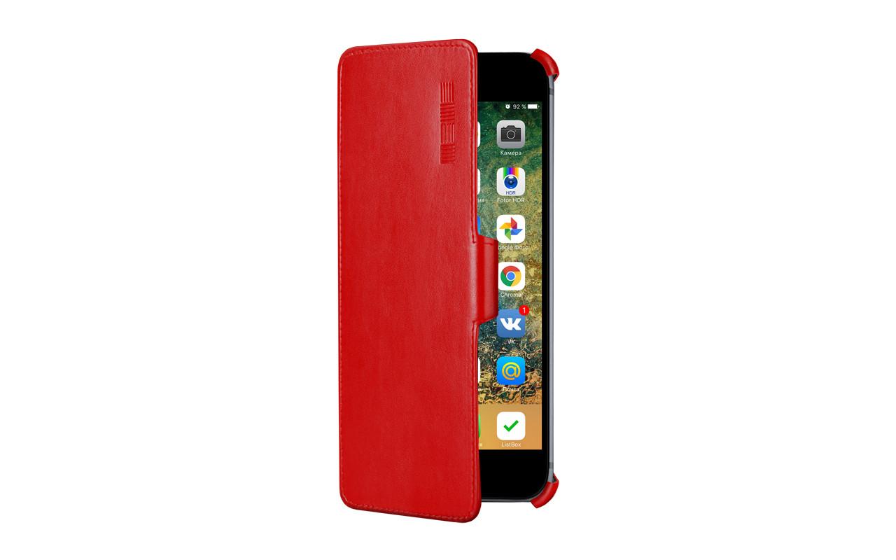 Чехол Книжка Для Телефона - Prestigio 5502, interstep CRAB красный
