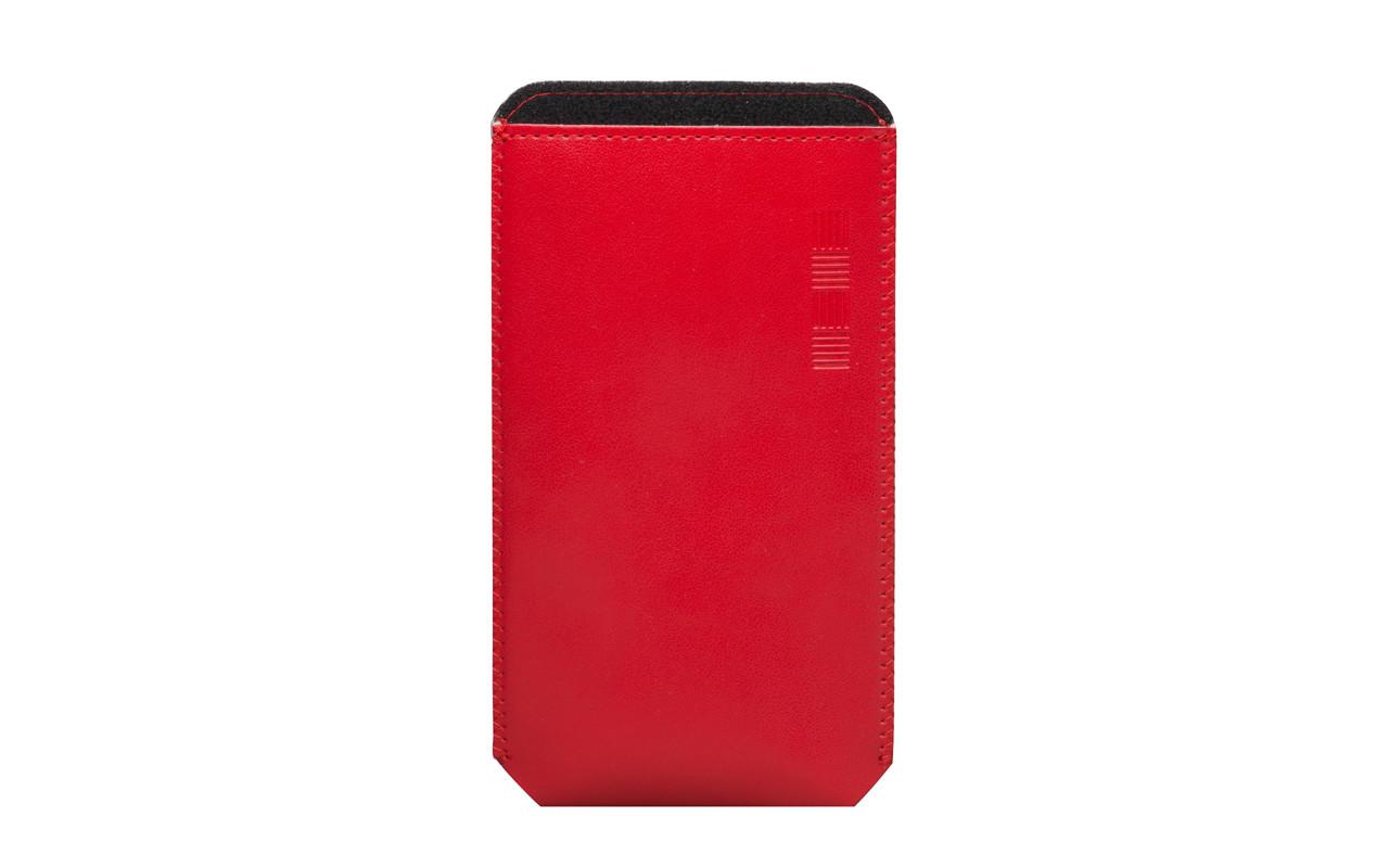 Чехол Карман Для телефона Красный, InterStep POCKET Р-100