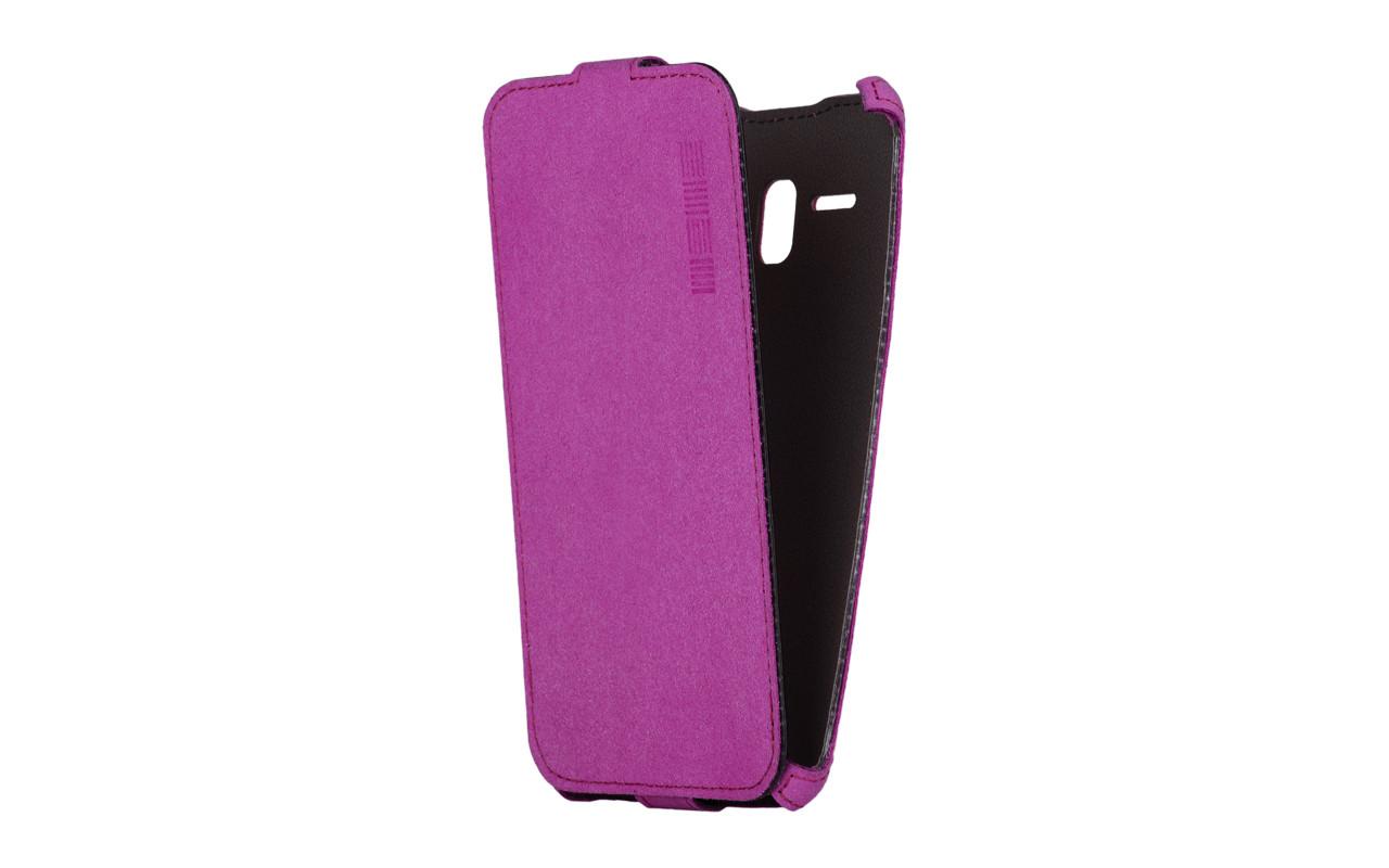Чехол Флип-Кейс Для Телефона - ZTE Blade X3, interstep CRAB розовый