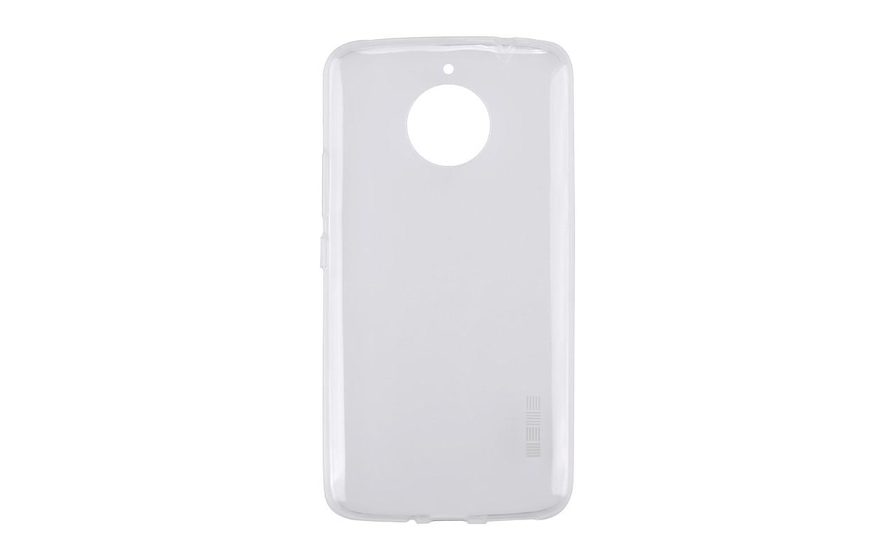 Прозрачный силиконовый чехол на Motorola Moto E+