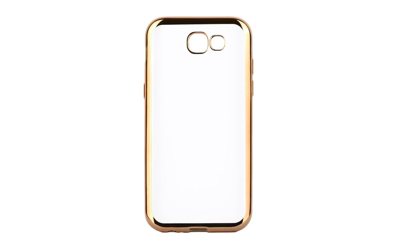 Cиликоновый чехол для Samsung Galaxy J7 2017 - цвет золото
