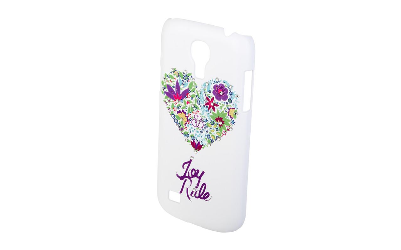 Клип Кейс - Чехол накладка Для Apple iPhone 5, 5S, Белый Сердце, InterStep