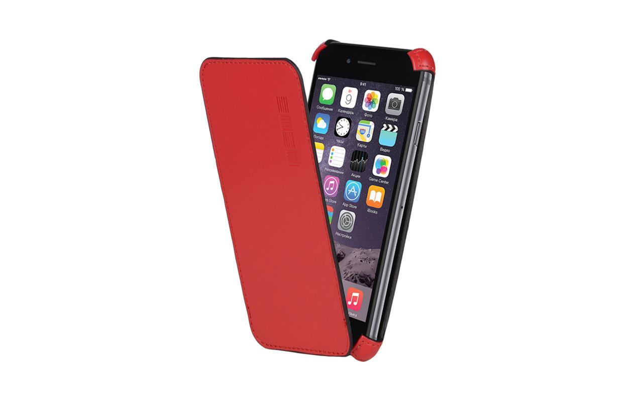 Чехол Флип Кейс Для Sony Xperia E4, Красный InterStep CRAB