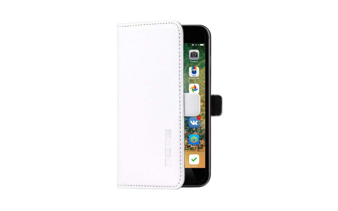 Универсальный Чехол Книжка Для Смартфона с Экраном от 5,2 до 5,5 дюймов Белый, InterStep NEXT