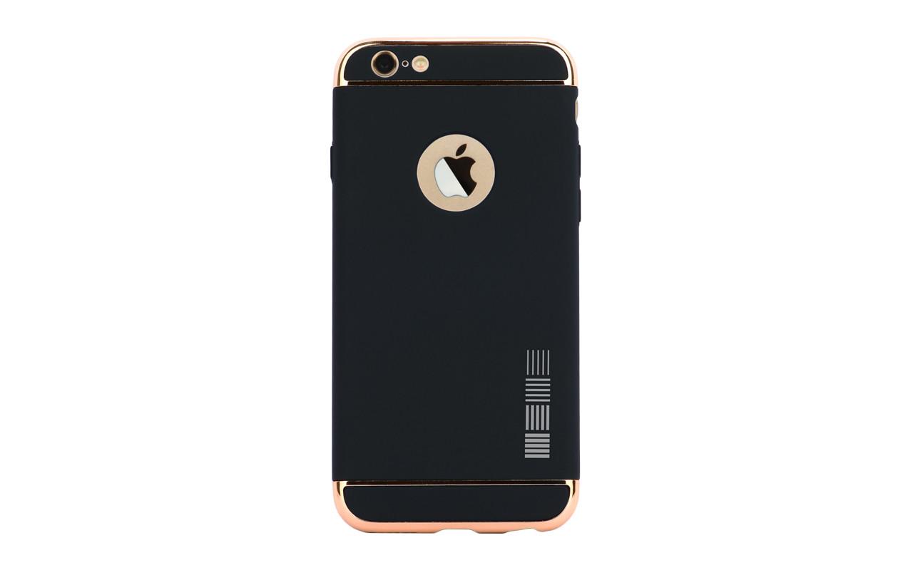 Чехол Накладка Для Телефона - Apple iPhone 6, interstep LID-CASE черный