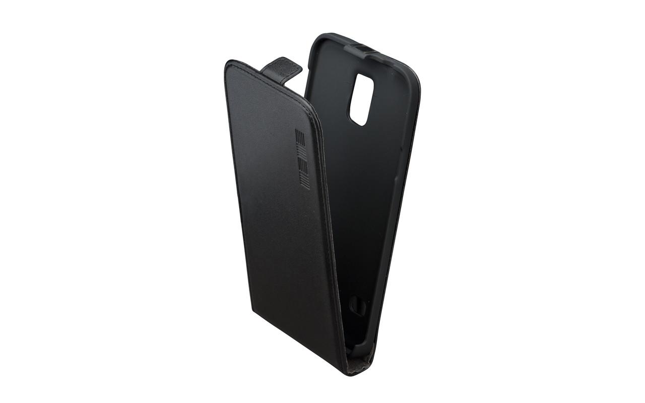 Чехол Флип Кейс Для Samsung Galaxy S5 Черный, InterStep SLIM