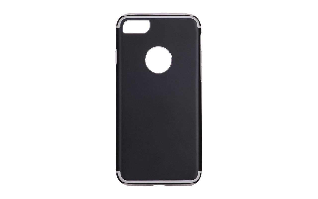 Чехол Накладка Для Телефона - Apple iPhone 6, interstep TITANIUM черный