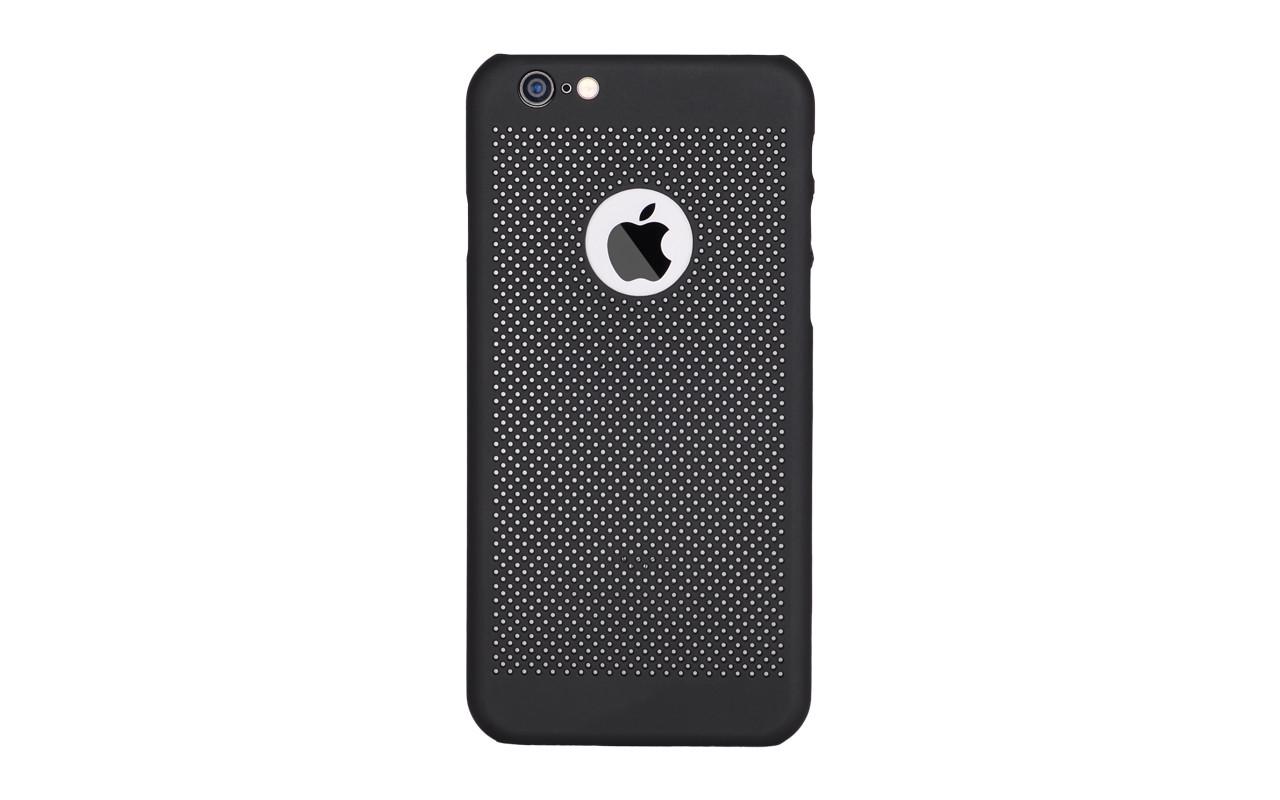 Чехол Накладка Для Телефона - Apple iPhone 6, interstep VENT-CASE черный