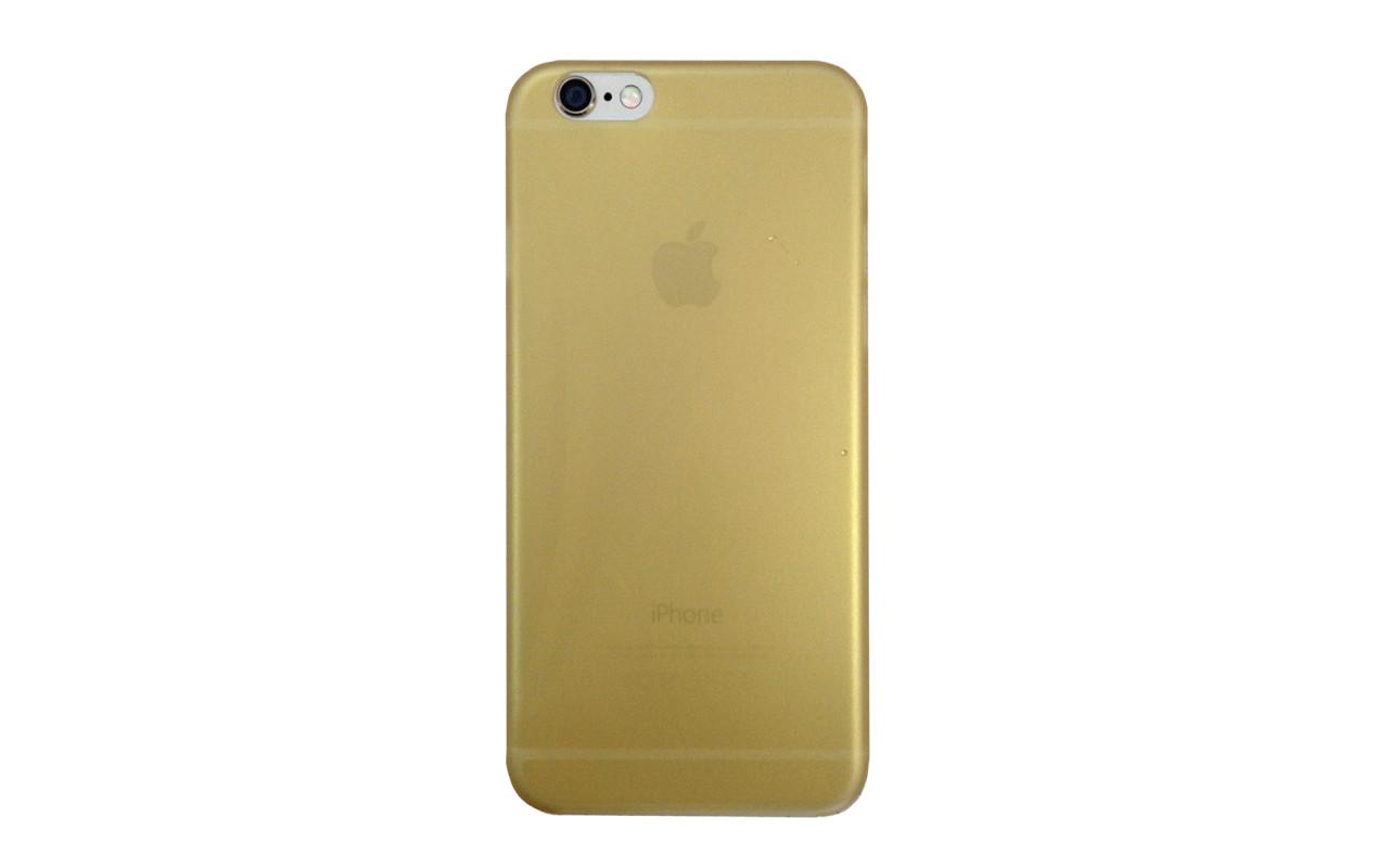 Клип Кейс - Чехол накладка Для Apple iPhone 6, 6S, Золото, InterStep