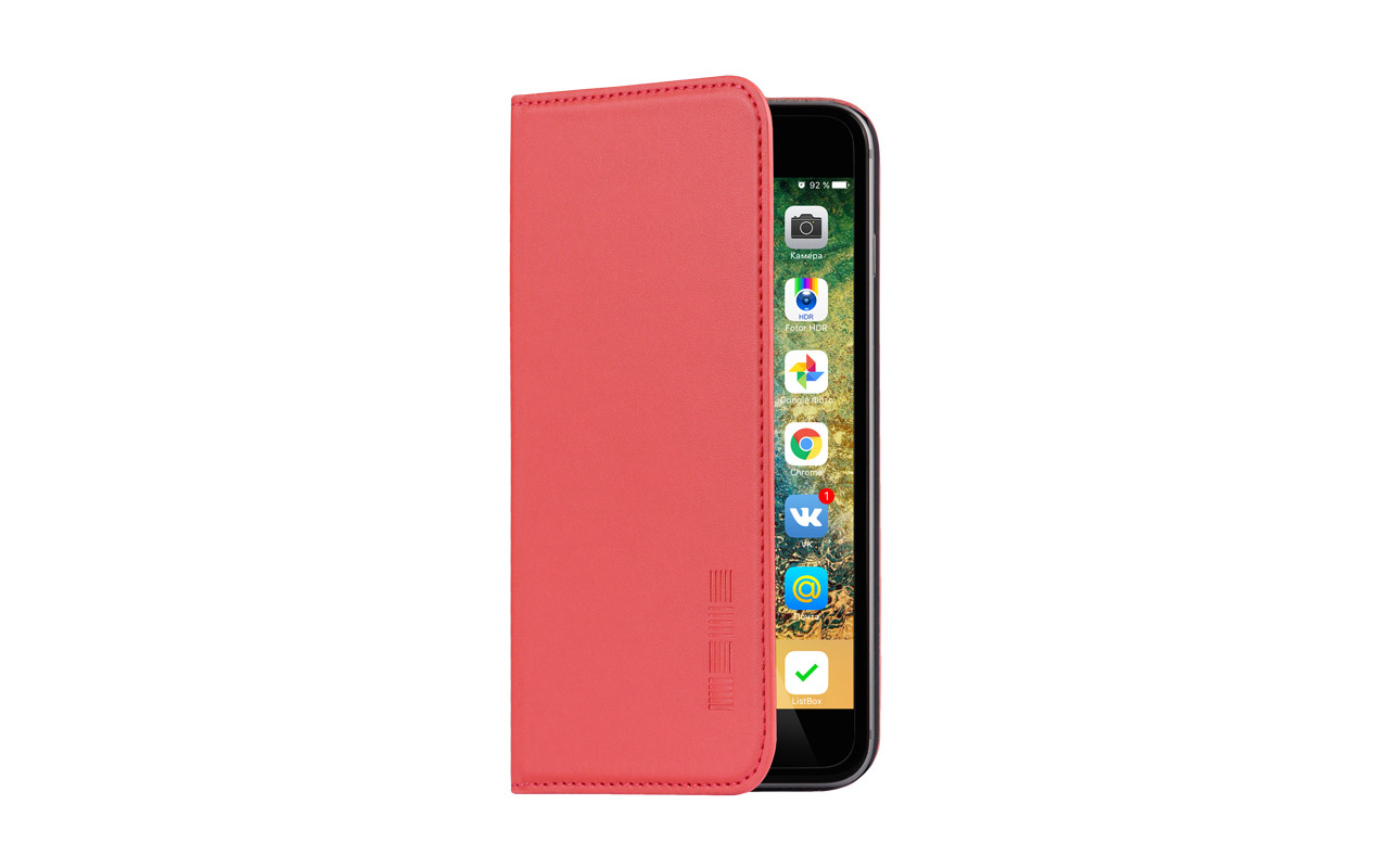 Чехол Книжка Для Телефона - Meizu M3 Note, interstep VIBE красный