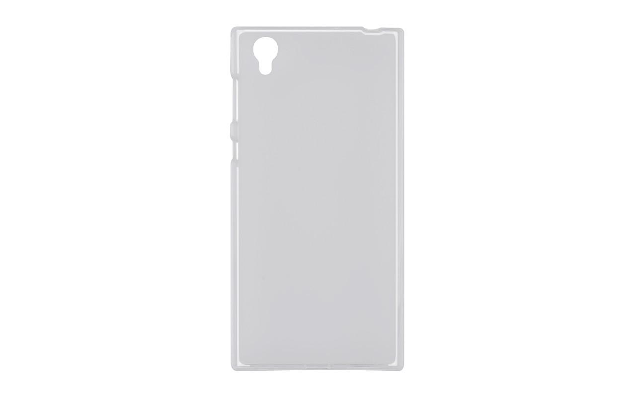 Прозрачный силиконовый чехол на Sony Xperia L1