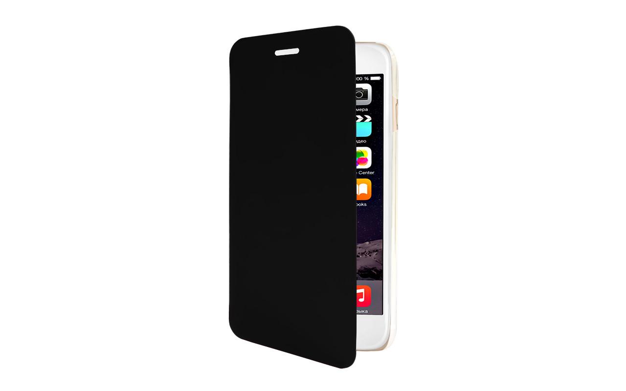 Чехол Книжка Для Samsung Galaxy S6 Черный, InterStep
