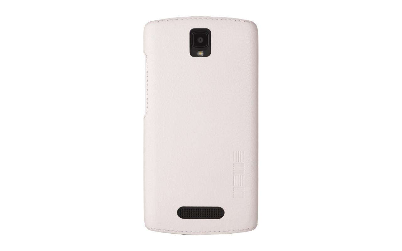 Чехол Накладка Для Телефона - DEXP Ixion ES350 Rage Plus, interstep ANCLIP белый