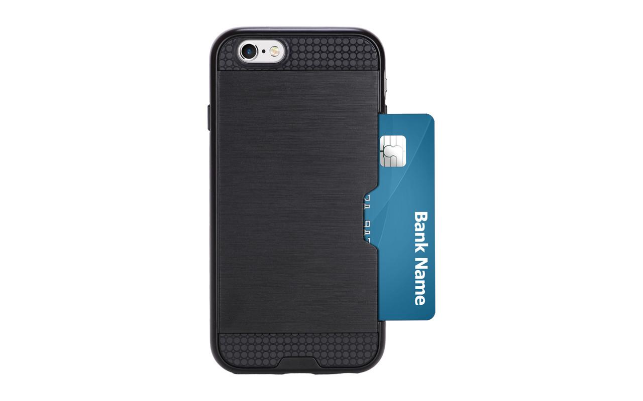 Чехол Накладка Для Телефона - Apple iPhone 7, interstep SHOCK-CASE черный