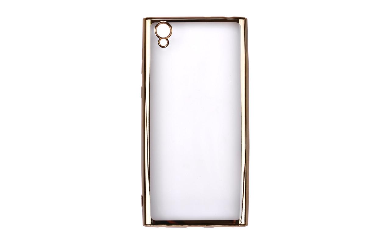 Cиликоновый чехол для Sony Xperia L1 - цвет золото