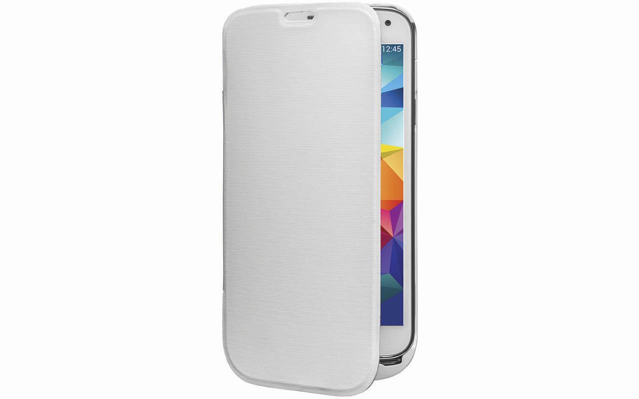 Чехол Аккумулятор Для Samsung Galaxy S5 Mini 2500 mAh,Белый, InterStep