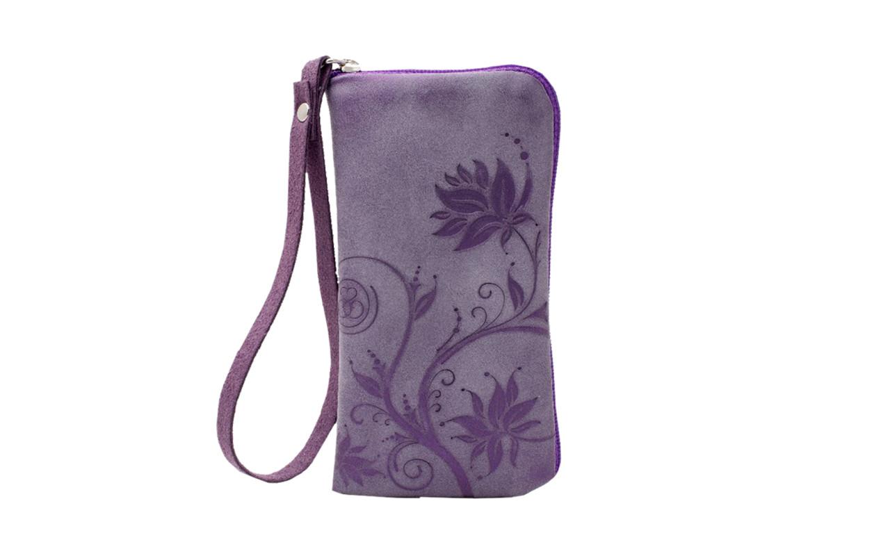 Сумочка DELTA ФЛЕР р93 и/кожа тускани purple