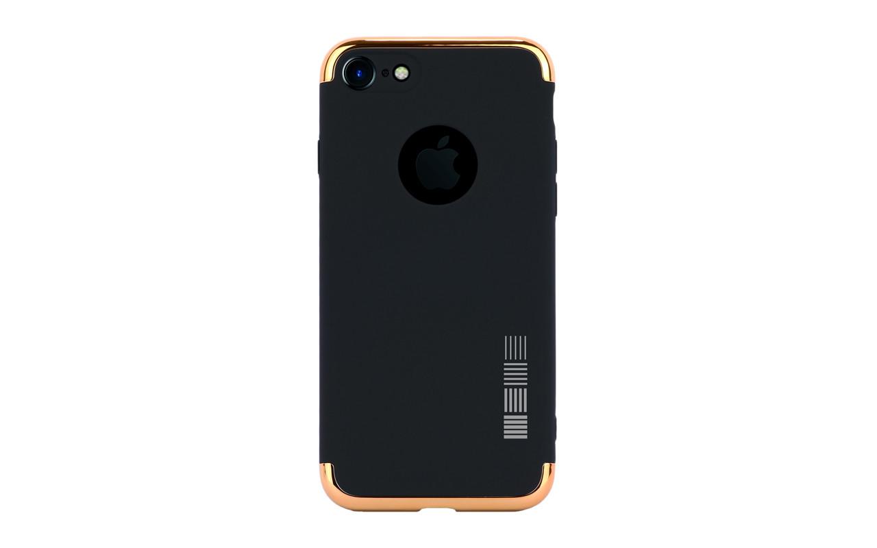 Чехол Накладка Для Телефона - Apple iPhone 7, interstep LID-CASE черный