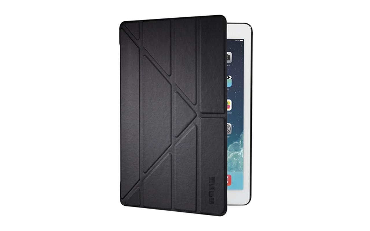 Чехол Для Планшета - Apple iPad Pro 12.9, interstep SMART ST ЛИЛИИ черный