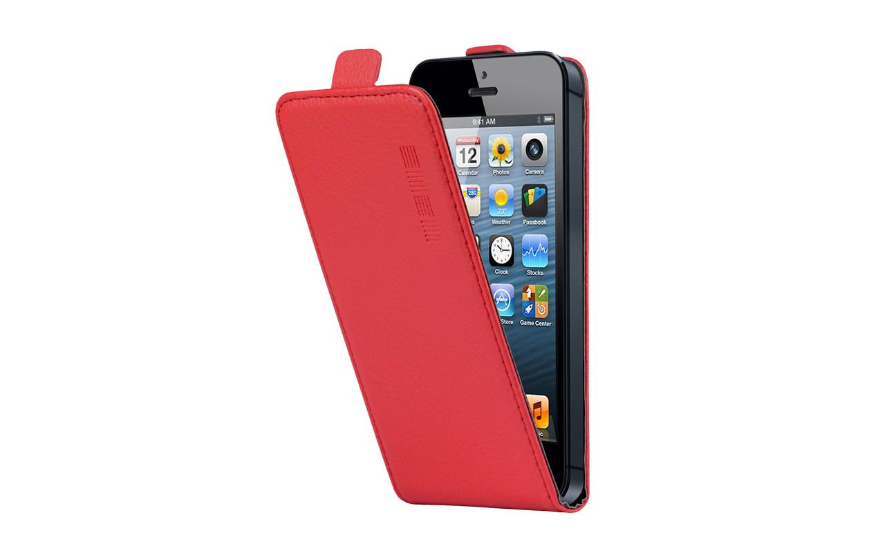 Универсальный Чехол Флип Кейс, Для Смартфона с Экраном от 5 до 5,2 дюймов Красный, InterStep NEXT