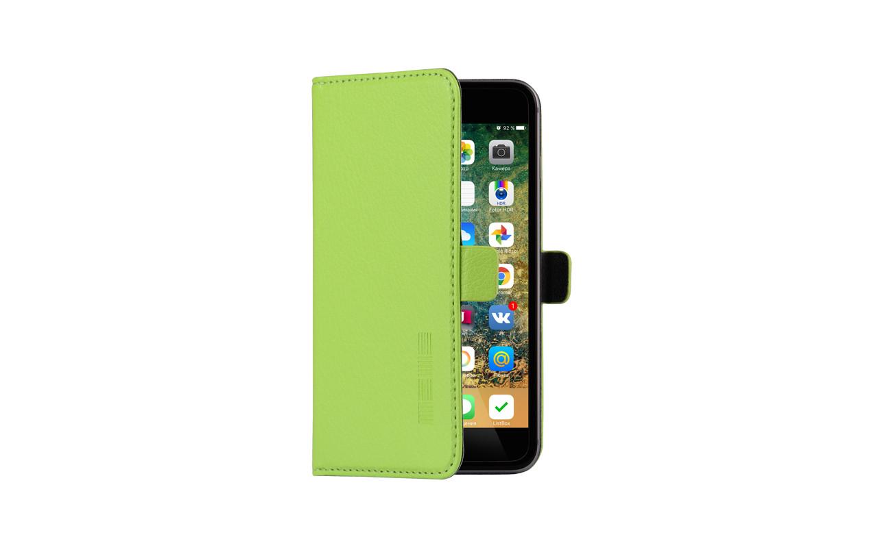 Универсальный Чехол Книжка Для Смартфона с Экраном от 5 до 5,2 дюймов Зеленый, InterStep NEXT