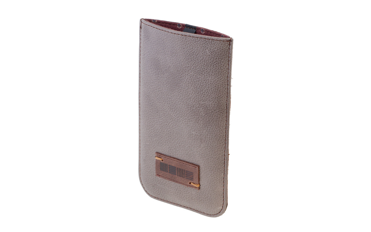 Чехол Карман Для телефона, Кожаный, темно-коричневый, InterStep DOVER Р-97