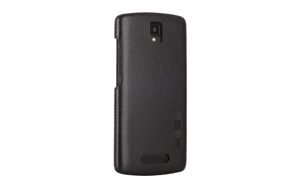 Чехол Накладка Для Телефона - DEXP Ixion ES350 Rage Plus, interstep ANCLIP черный