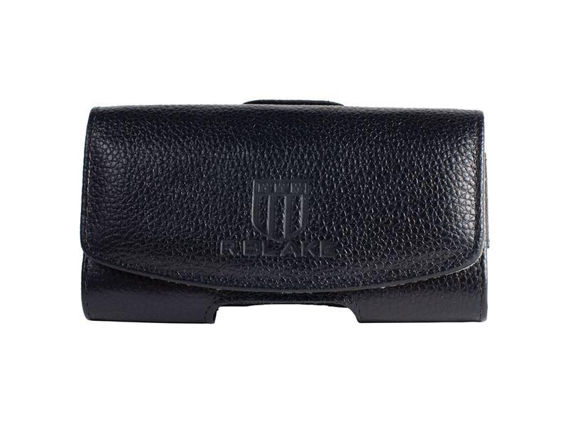 Чехол сумка Для телефона, Кожаный, Черный, InterStep VOX Р-92
