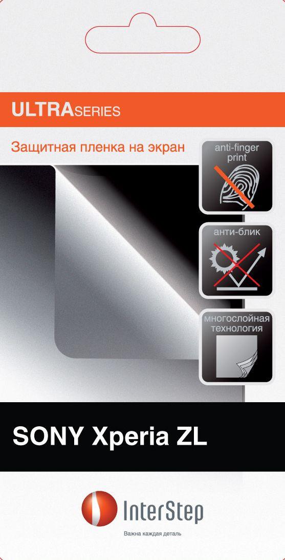 Защитная Пленка Interstep Серии Ultra Для Sony Xperia Zl (Матовая, Антибликовая) InterStep