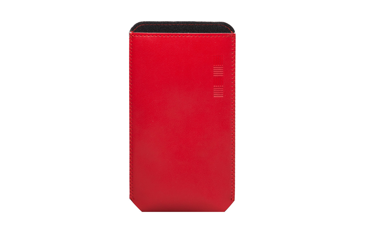Чехол Карман Для телефона Красный, InterStep POCKET Р-91