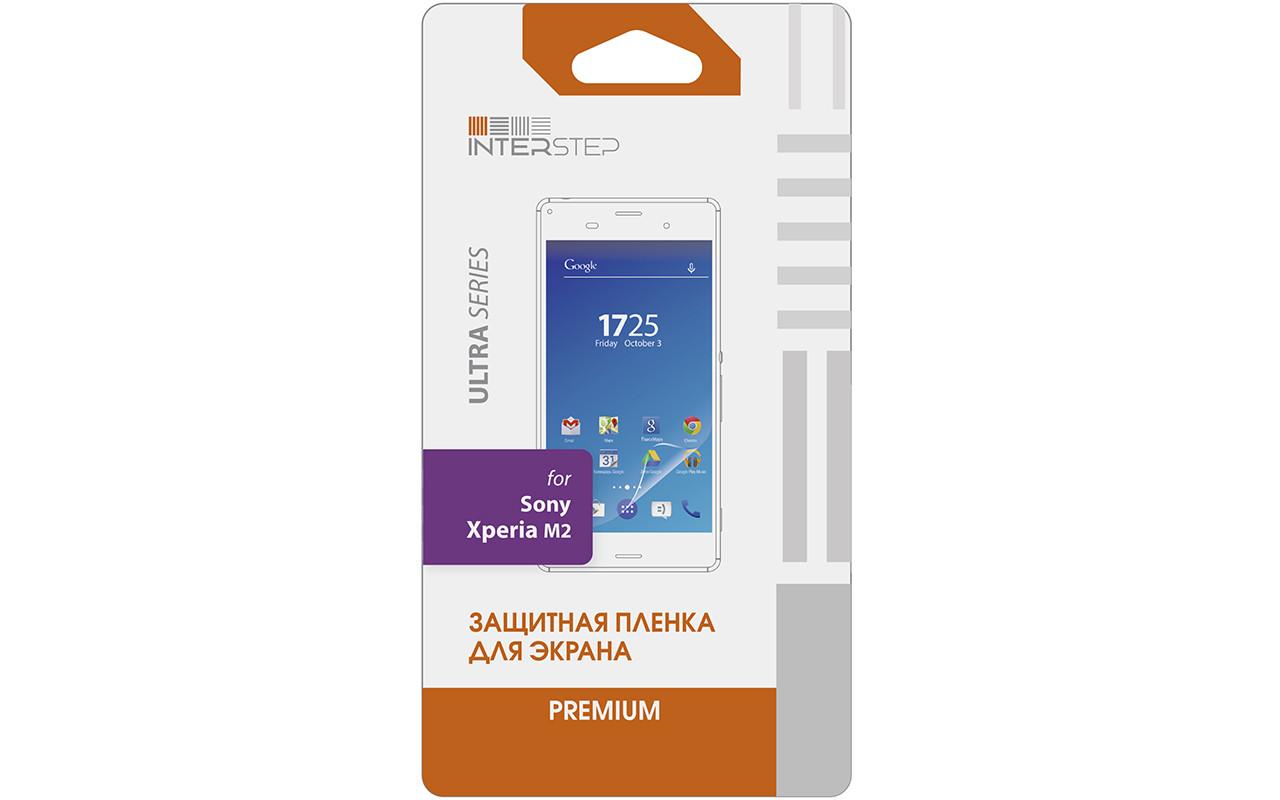 Защитная Пленка Interstep Серии Ultra Для Sony Xperia M2 (Ультрапрозрачная) InterStep