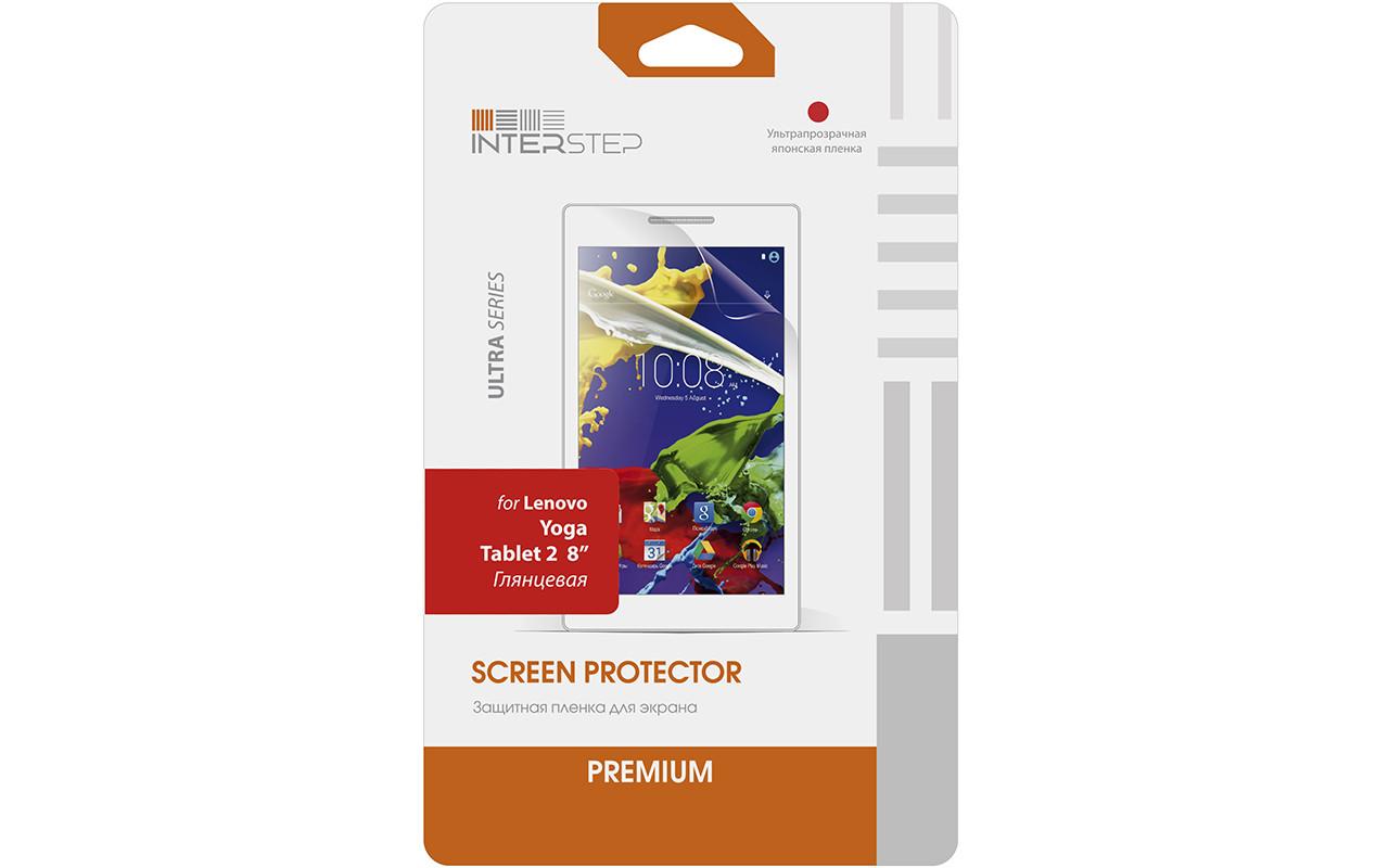 """Защитная Пленка Interstep Серии Ultra Для Lenovo Yoga Tablet 2 8"""" (Ультрапрозрачная) InterStep"""
