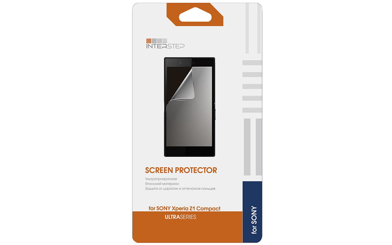 Защитная Пленка Interstep Серии Ultra Для Sony Xperia Z1 Compact (Ультрапрозрачная) InterStep