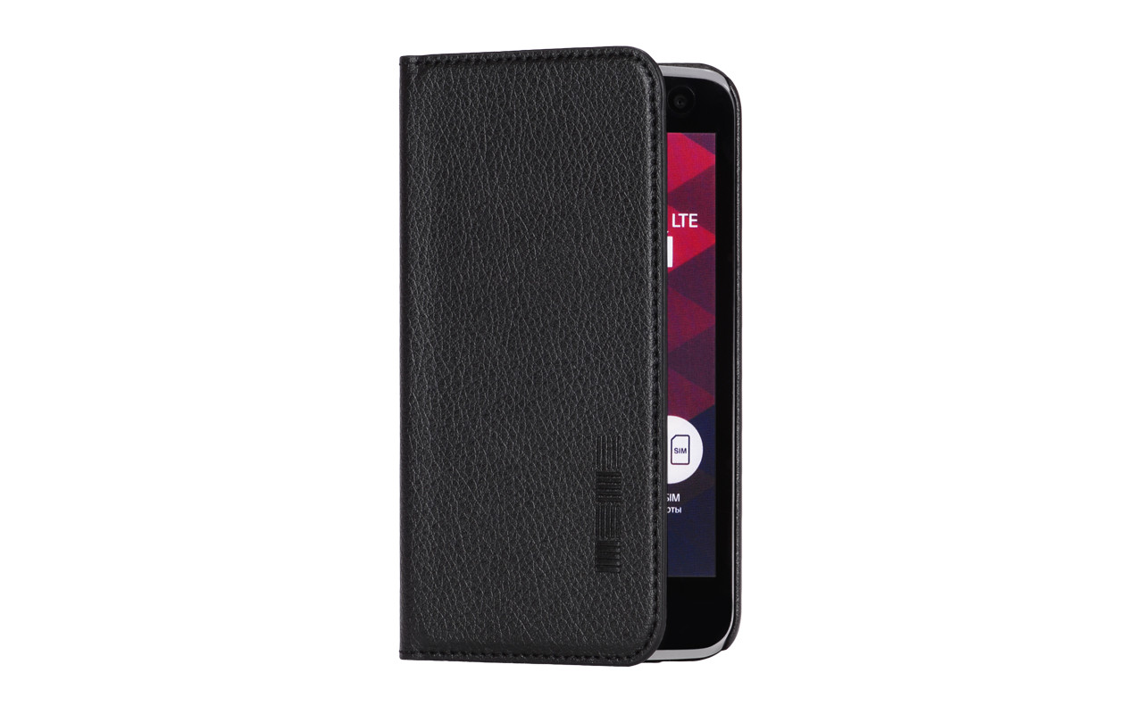 Чехол Книжка Для Телефона - Sony C6, interstep VIBE черный
